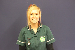 Melissa Griffiths Registered Veterinary Nurse